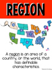 Northeast Region: Social Studies/Geography 13 Vocabulary Posters + States Cards!