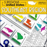 Regions of the United States - Southeast Region - US Regions