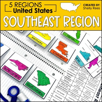 regions of the united states southeast region us regions
