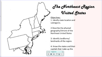 Northeast Region United States