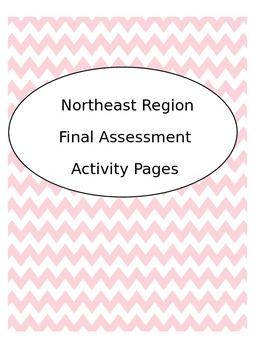 Northeast Region--atlas assessment activity sheets