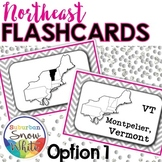 Northeast United States Flashcards, States, Capitals, Abbr
