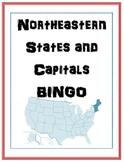 Northeast States and Capitals BINGO
