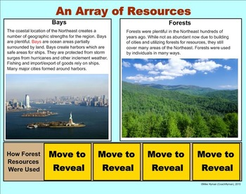 Northeast United States - A Fourth Grade SMARTBoard Introduction