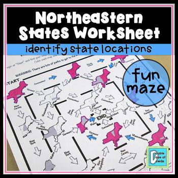 Northeastern States Maze