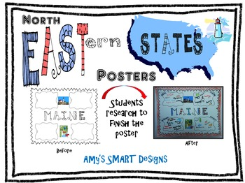 Northeastern States Posters