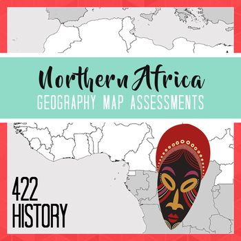 Northern Africa Geography Map Set