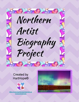 Northern Artists Biography Project