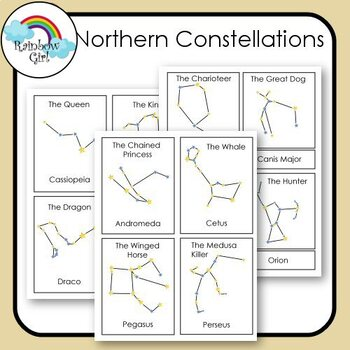 Northern Constellation Cards