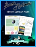 Northern Lights Art Project and Science Lesson