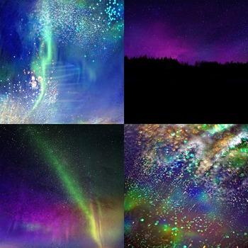 Northern Lights Digital Paper