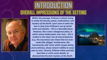 Northern Lights (The Golden Compass) - Setting Descriptions!