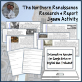 Northern Renaissance Jigsaw Activity PDF & for Digital or