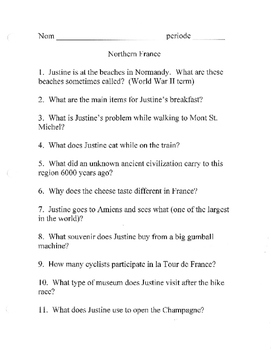 Northern Southern France DVD Globe Trekker Questions Discovering French bleu