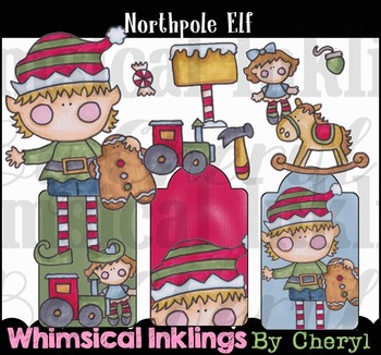 Northpole Elf-Christmas Clipart Collection