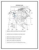 Northwest Coast Indians - Geography Map