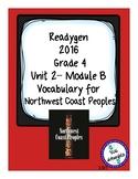 Northwest Coast Peoples Readygen Grade 4 Unit 2 Module B Vocabulary