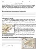 Northwest Passage French and Dutch Exploration Worksheet