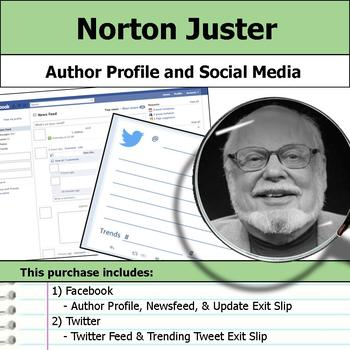 Norton Juster - Author Study - Profile and Social Media
