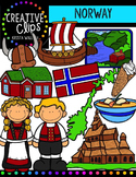 Norway {Creative Clips Digital Clipart}