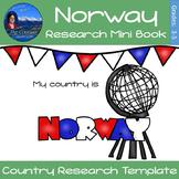 Norway - Research Mini Book