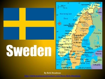 Norway, Sweden, Finland PowerPoints Bundle