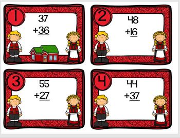 Norway Themed Math Addition Station