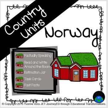 Second and Third Grade Norway Unit