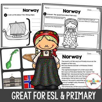Norway- Vocabulary Pack
