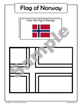 Norway:  Worksheets, Maps, and Journaling Pages