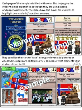 Norway World Music Digital Passport