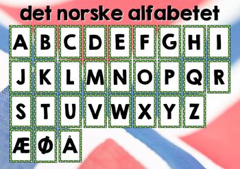 norsk alphabet