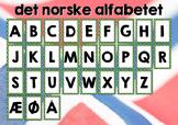Norwegian Alphabet (Classroom Poster)
