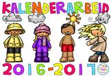Vi jobber med vær og kalender! 2016/2017 (BM)