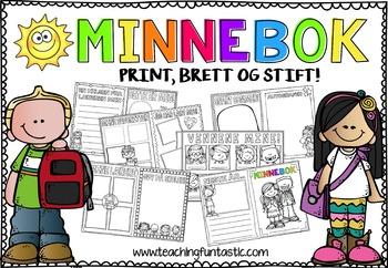 Minnebok til skoleslutt (BM & NN)