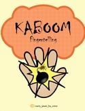 *Norwegian* Kaboom fingertelling