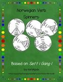 Norwegian Verb Spinners:  Based on Sett i Gang 1