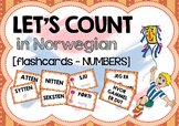 Norwegian numbers (flashcards)