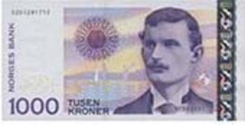 Norweigian Currency (Clip Art)—Norway