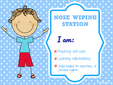Nose Wiping Station Sign