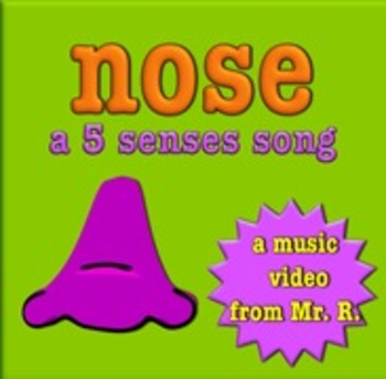 Nose and the sense of smell! A 5 senses music video!