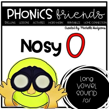 Long Vowel o_e: Nosy O Phonics Friends