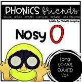 Long Vowel o_e: Nosy O Phonics Friends