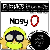 Nosy O (Activities for learning long vowel o cvce)