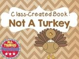 Preschool Thanksgiving Book