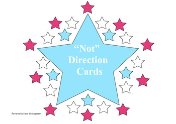Not - Direction Cards