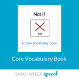 Not- Interactive Core Vocabulary Book