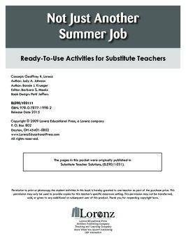 Not Just Another Summer Job