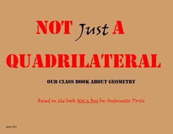Not Just a Quadrilateral: A Math Writing Activity