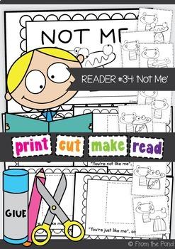 Emergent Cut & Paste Reader {Not Me}